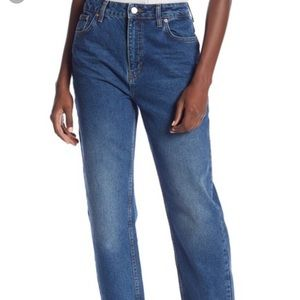 NWT Free People Mom Ankle Jeans